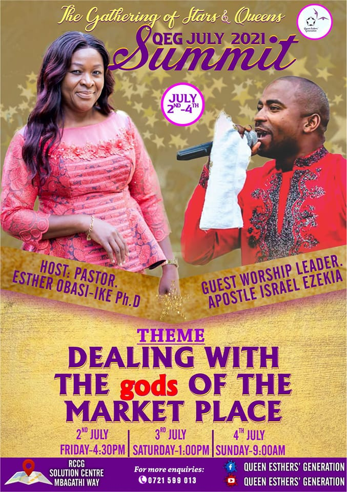 Pastor Esther Obasi-ike Ph.D, Pastor Esther Obasi-ike Ph.D.